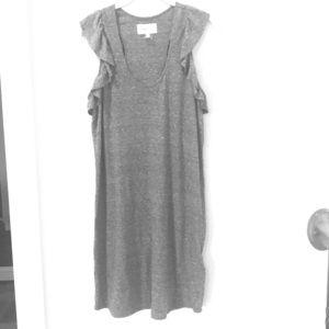 Current/Elliott Casual Dress - Gray Size 3/L